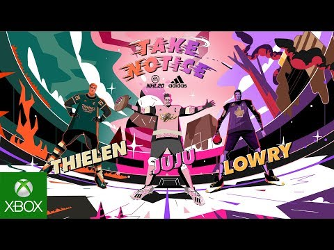 NHL 20 | Take Notice ft. Kyle Lowry, JuJu Smith-Schuster and Adam Thielen