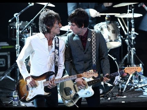 Johnny Marr & Ronnie Wood - 'How Soon Is Now?' - NME Awards 2013