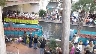 UT Longhorn Band on the RIVER WALK