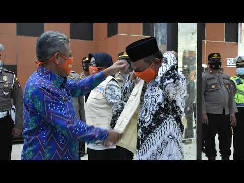 Launching Batalyon Guru Kepong Bakol Cegah Covid-19