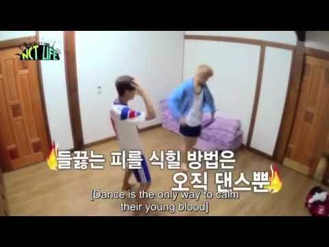 NCT Mark & Haechan dance to EXO's Monster