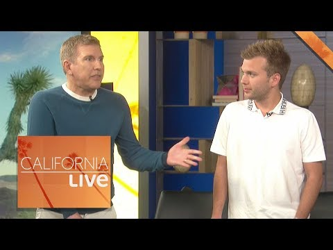 Todd and Chase Chrisley put to the test | California Live | NBCLA