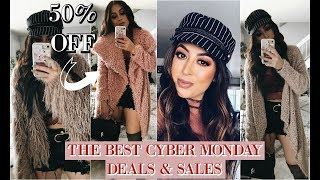 BEST CYBER MONDAY DEALS & SALES TRY ON HAUL CURRENTLY GOING ON 2017