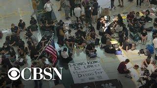 China's reaction to Hong Kong protests