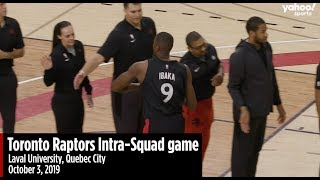 Siakam, VanVleet and Anunoby highlights from Raptors Intra-Squad game
