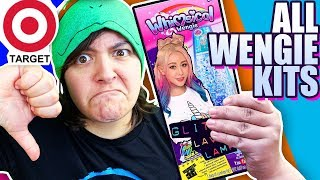 CASH or TRASH? Testing Whimsical Wengie Slime, Lava Lamp, Hair Kit, Body Art Review
