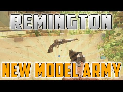 "New Gun! ""Remington New Model Army"" Zombies ""BURIED"" Gameplay - Smashpipe Games"
