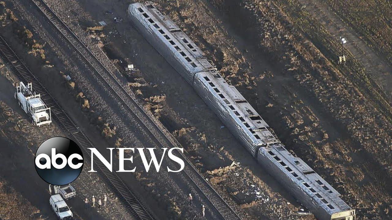 Investigation into deadly derailment of Amtrak train