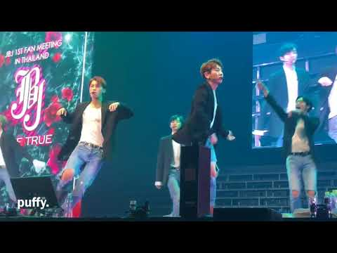 {fancam} JBJ fan meeting in bkk (I know You know , Show time , 여러줘 )