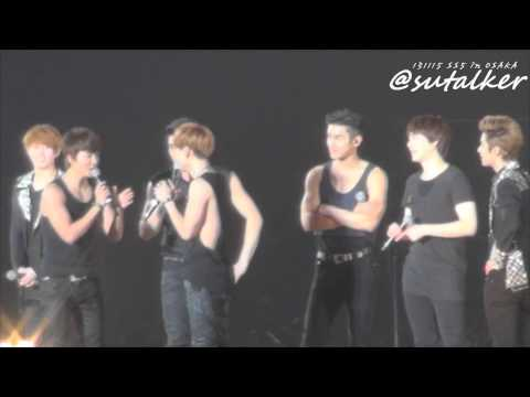 131115 SS5 in OSAKA 앵콜 Ment