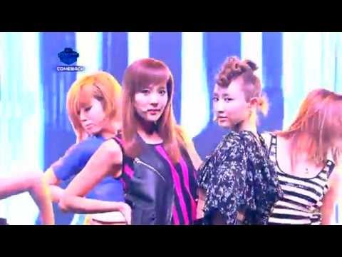 One more chance 110714 (Comeback stage) @ M Countdown - The Grace Dana & Sunday