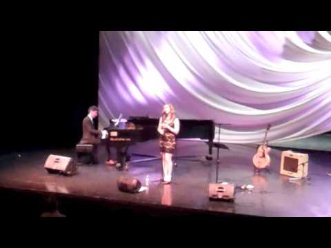 """Blame it on My Youth,"" (jazz standard) - Kelly Ash & Julian Pollack @ Myrna Loy Center for Performing Arts - Helena, MT. June 30, 2013"