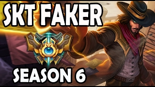 SKT T1 Faker Twisted Fate vs Ekko MID Ranked Challenger Korea