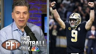 Drew Brees captures passing TD record in Saints' win | Pro Football Talk | NBC Sports