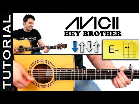 Baixar Como tocar HEY BROTHER AVICII guitarra acordes tutorial