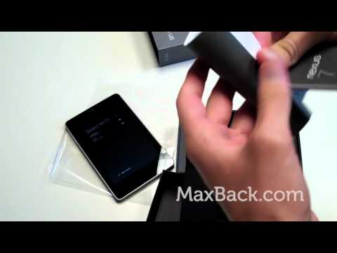 Google Nexus 7 Tablet - First Impressions - Unboxing and Reboxing