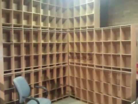 Cardboard Diy Inventory And Storage Bins Youtube