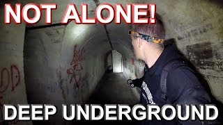 NOT ALONE UNDERGROUND - WW2 Tunnel Just Got More Interesting
