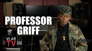 Professor Griff on Fighting MC Serch of 3rd Bass in Def Jam Offices