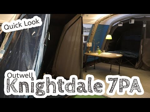 video Outwell Knightdale 7PA Family Tent