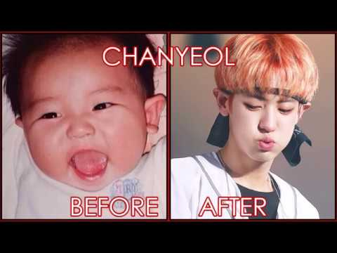 EXO - BEFORE AND AFTER DEBUT | 데뷔 전후