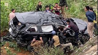 Tai nạn giao thông tại Thái Nguyên khiến bốn người nhập viện