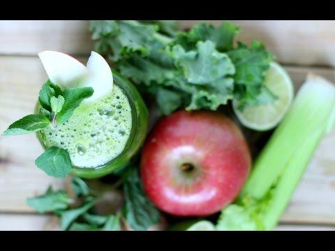 Apple Mojito Juice | Green Juice Recipe for Detox, Weightloss & Digestion