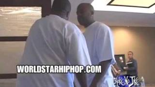 Dame Dash Spazzin Out On Def Jam For Doin A Jay Z Meetin Without His Permission