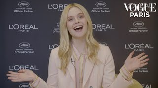 What is Elle Fanning's favorite film? | Popcorn Interview | Vogue Paris