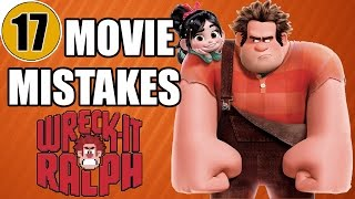 17 Mistakes of WRECK-IT RALPH You Didn't Notice