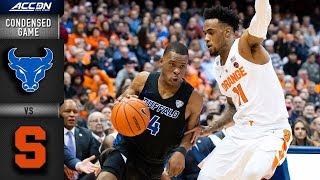 Buffalo vs. Syracuse Condensed Game | 2018-19 ACC Basketball