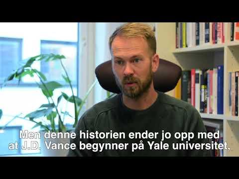 Redaktøren anbefaler: Erik Møller Solheim anbefaler Hillbillyens klagesang av J.D.Vance