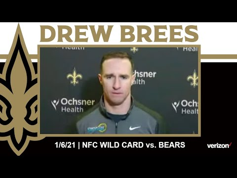 Drew Brees on the Saints Roster Depth, Wild Card Game Plan | Saints-Bears NFC Wild Card