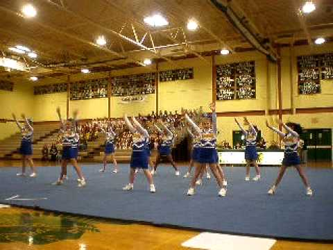 St Marks Cheerleading Competition 2011