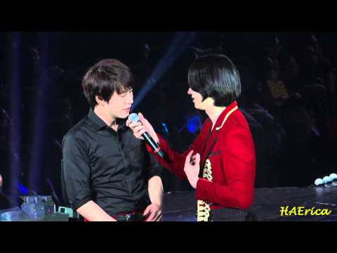 141129 SS6 in Taiwan - Ment - 행복 (Heechul)