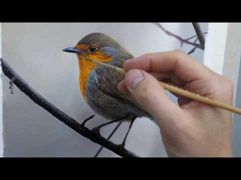 #108 How to paint a bird