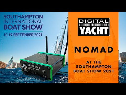 Nomad at The Southampton Boat Show 2021 - Digital Yacht