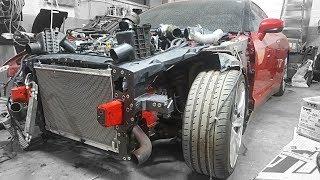 Totaled Nissan GT-R Rebuild - Part 6