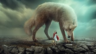 Big Wolf - Photoshop Manipulation Tutorial