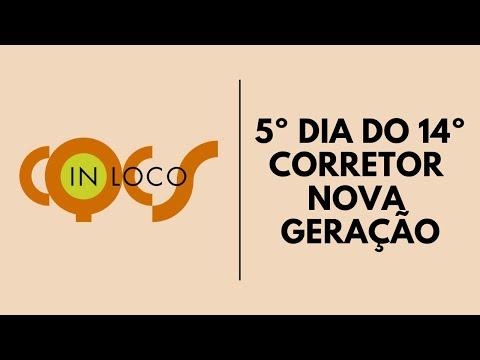 Imagem post: 5º dia do 14º Corretor Nova Geração