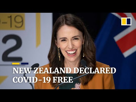 PM Jacinda Ardern dances for joy as New Zealand lifts lockdown after coronavirus 'eliminated'