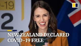 I danced on knowing New Zealand free from Covid-19: PM Jac..