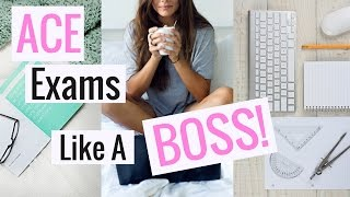 How To Study For Exams Like A BOSS | Study Tips + Tricks!
