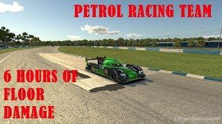 6 HOURS OF FLOOR DAMAGE - iELMS Sebring Audi R18 Petrol Racing Team