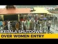 Kerala bandh today over Sabarimala; a protester dies in clashes