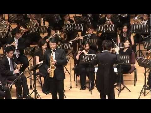 Memory (Sax solo with wind ensemble)
