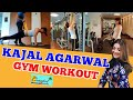 Kajal Agarwal Gym Workout