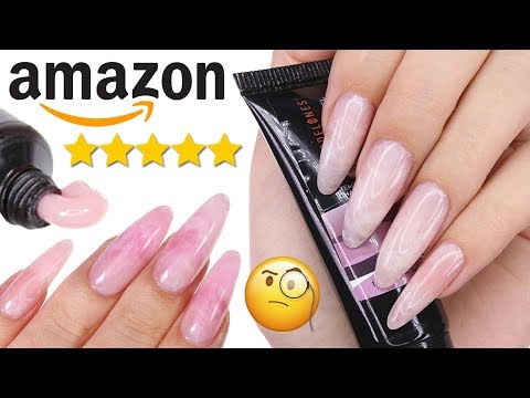 DIY TESTING COLOR CHANGING POLYGEL KIT FROM AMAZON PRIME!