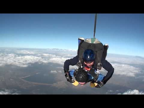 100-Year-Old Man Skydives for Birthday