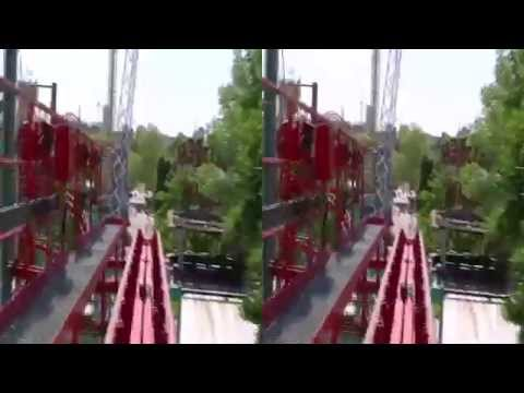 Roller Coasters POV in 3D!!! ( yt3d:enable = true )